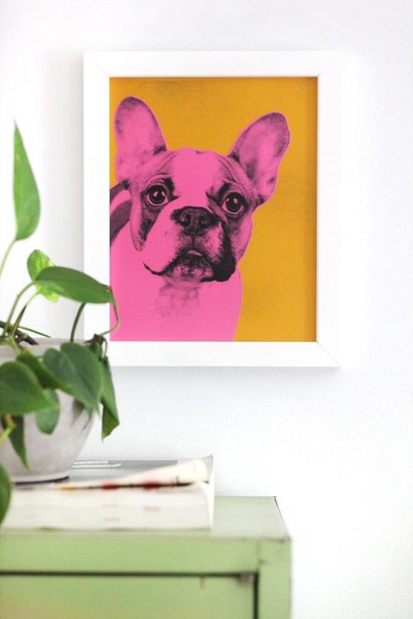 pet portrait DIY