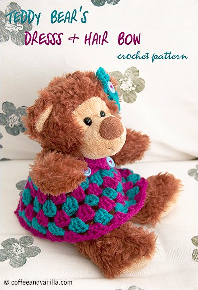 teddy bear crochet