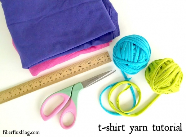 tshirt yarn tutorial 600x445 Link Love for Best Crochet Patterns, Ideas and News
