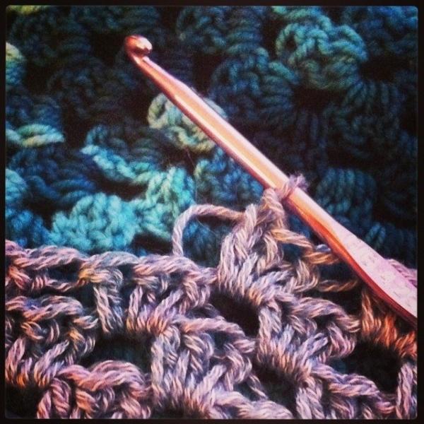 vercillo instagram crochet granny stitch