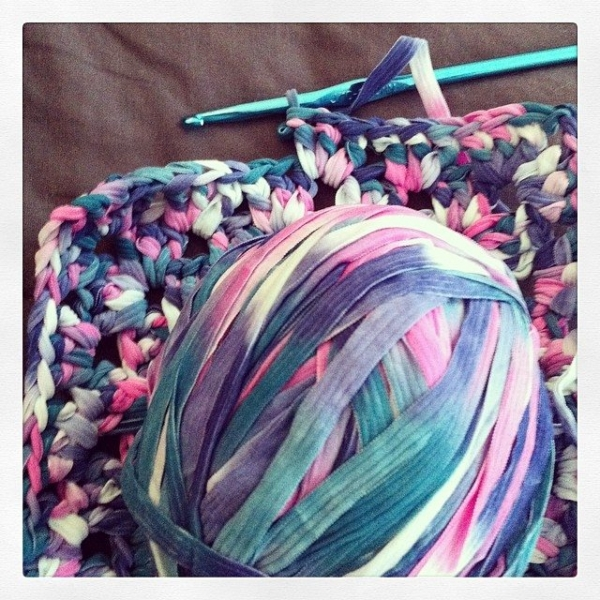 vercillo instagram ribbon yarn crochet