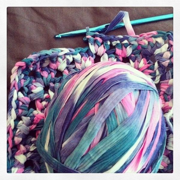 vercillo instagram ribbon yarn crochet