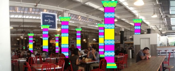 ybla crochet art project 600x245 YBLA Seeks New Yarnbombing Contributions