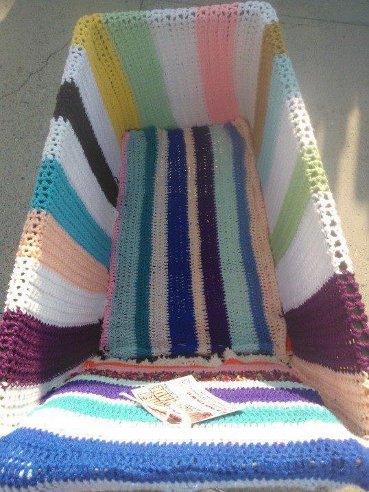 shopping cart crochet