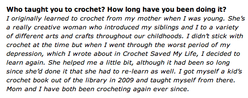 Screen shot 2014 07 09 at 10.36.56 AM Crochet Interview of ... Me!
