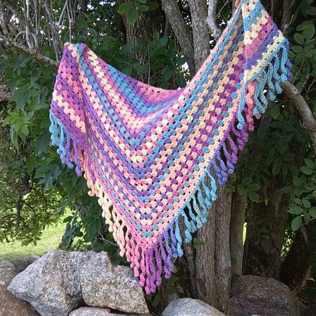 bethshananne crochet shawl