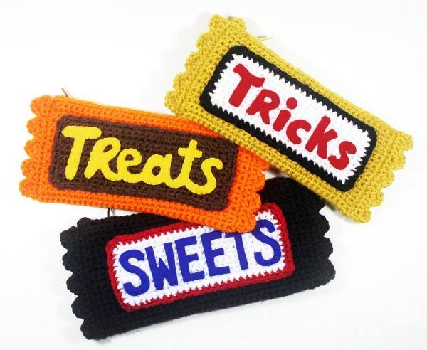 candy bar crochet pattern