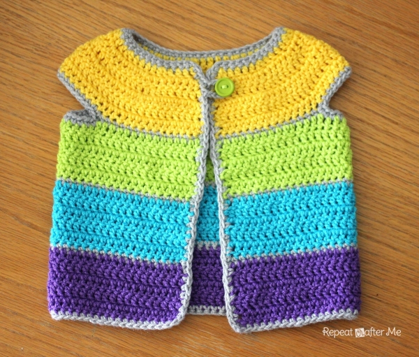 cardigan crochet pattern 600x511 Link Love for Best Crochet Patterns, Ideas and News