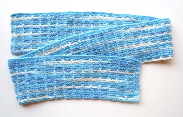 chain stitch crochet scarf