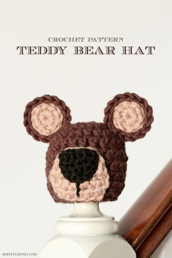 crochet bear hat free pattern