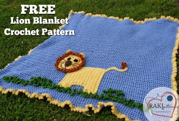crochet blanket free pattern 600x408 Link Love for Best Crochet Patterns, Ideas and News