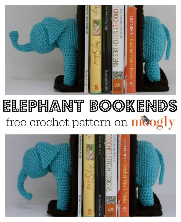 crochet bookends pattern