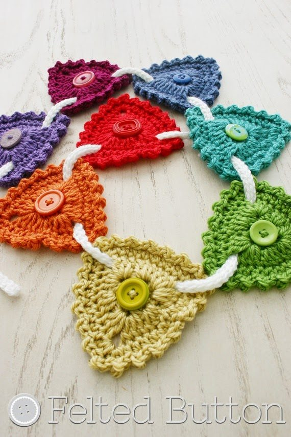 crochet bunting free pattern Link Love for Best Crochet Patterns, Ideas and News