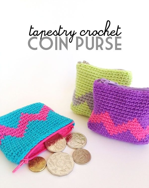 crochet coin purse pattern Link Love for Best Crochet Patterns, Ideas and News
