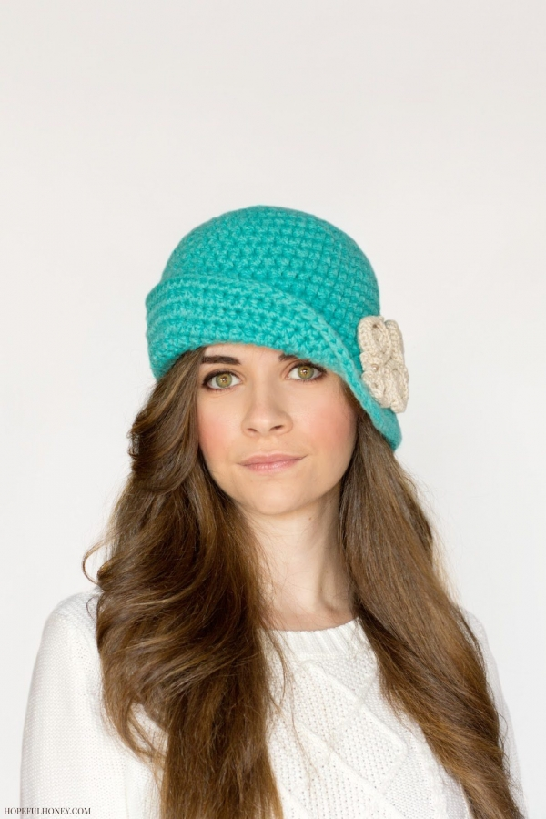 crochet hat free pattern1 600x900 Link Love for Best Crochet Patterns, Ideas and News
