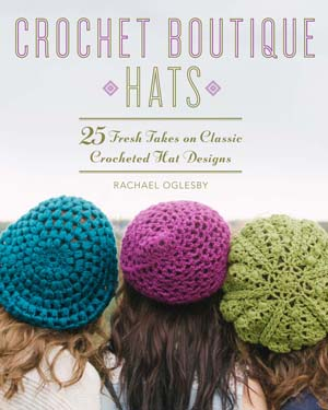 crochet hats book