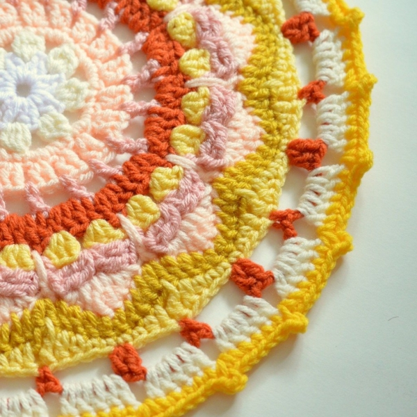 crochet mandala free pattern 600x600 Link Love for Best Crochet Patterns, Ideas and News