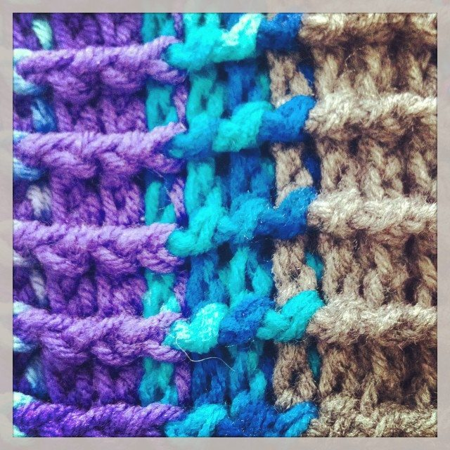 crochet post stitches1 Crochet Instagrammed