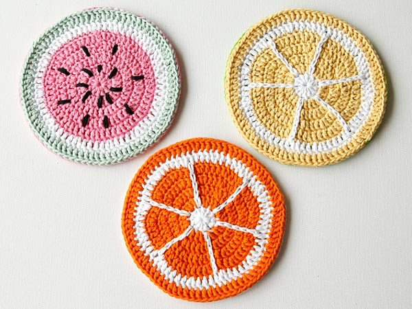 crochet potholders pattern