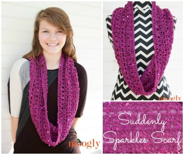 crochet scarf free pattern 600x503 Link Love for Best Crochet Patterns, Ideas and News