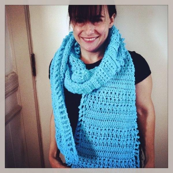 crochet scarf1 600x600 Crochet Instagrammed