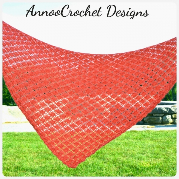 crochet shawl free pattern 600x600 Link Love for Best Crochet Patterns, Ideas and News