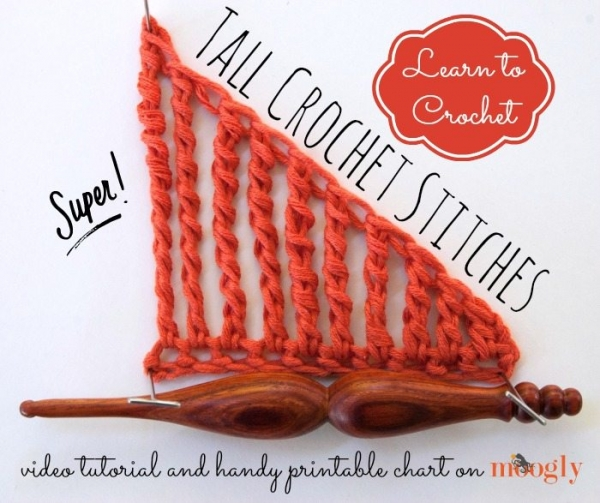 crochet tall stitches