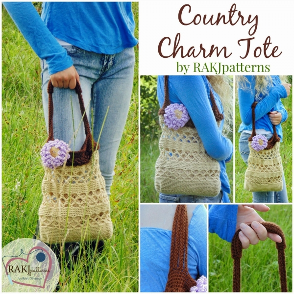 crochet tote bag pattern 600x600 Link Love for Best Crochet Patterns, Ideas and News