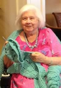crochet woman