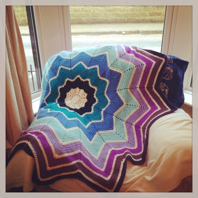 cuteashook crochet ripples