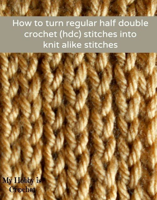 hdc tutorial Link Love for Best Crochet Patterns, Ideas and News