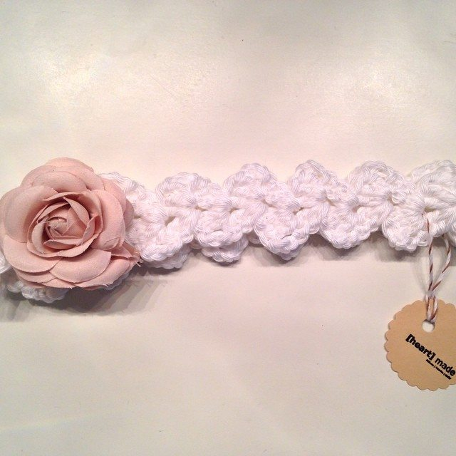 heartmadebeanies crochet headband