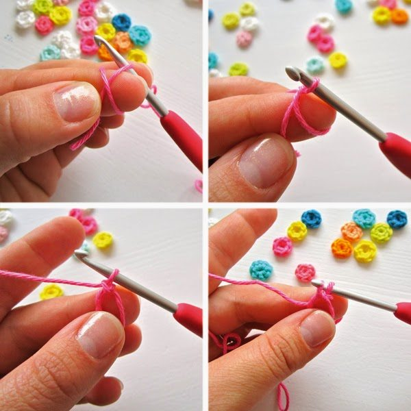 how to crochet confetti