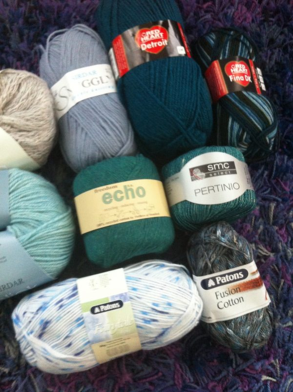 Black Sheep Wools Yarn Haul