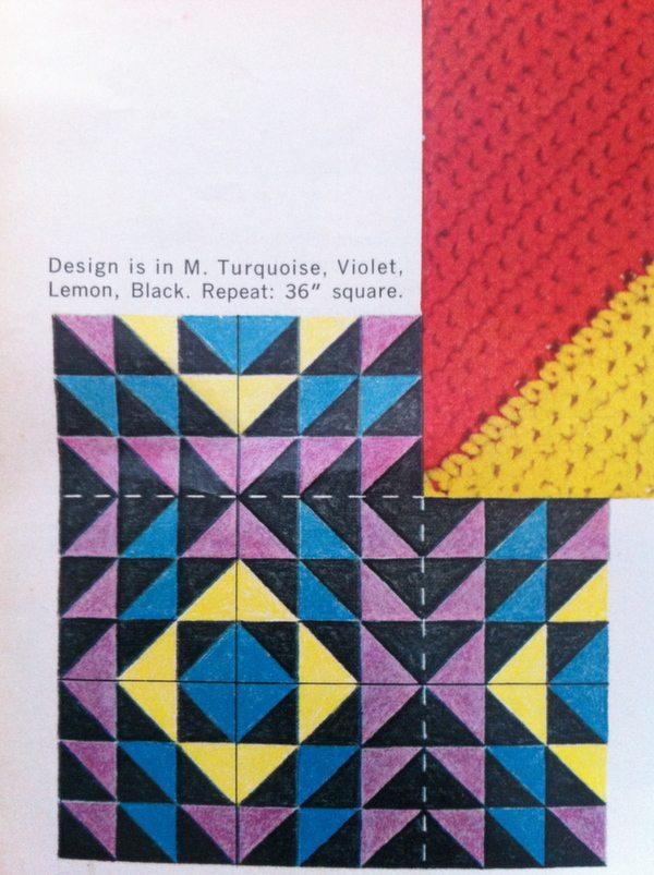 Vintage Patchwork Quilt Crochet Idea