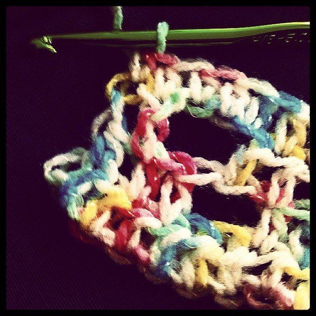 instagram crochet hdc