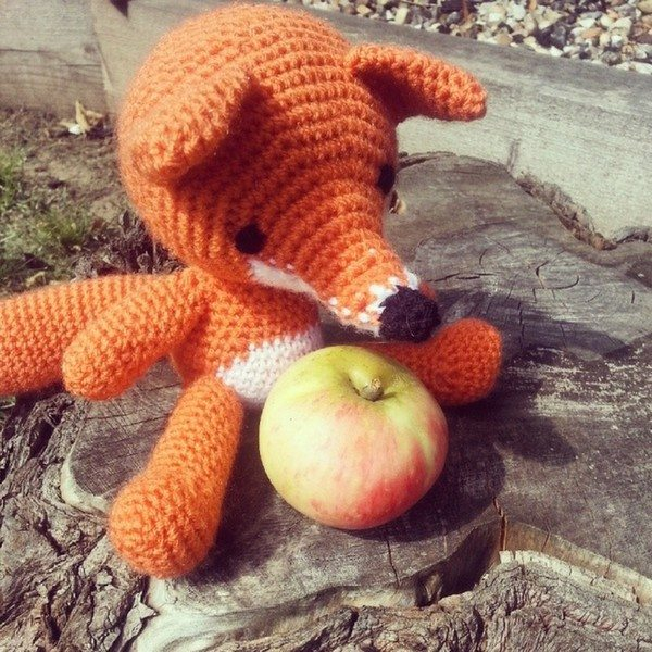 mamma made that crochet fox instagram Crochet Instagrammed