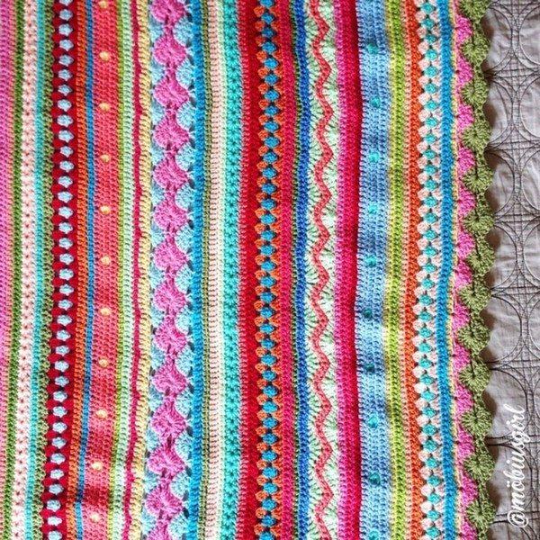 mobiusgirl instagram crochet blanket Crochet Instagrammed