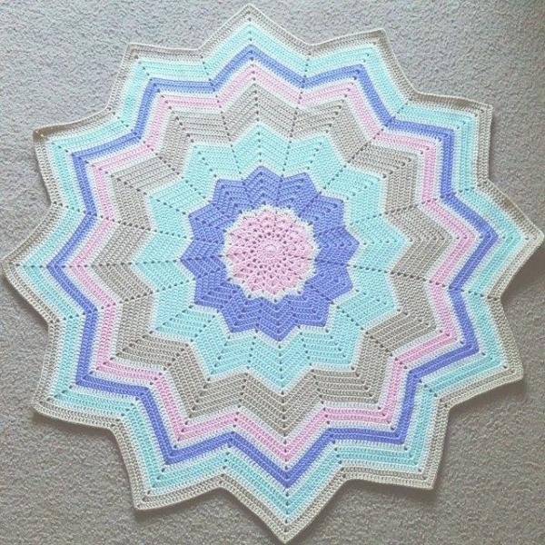 samyaun crochet baby blanket