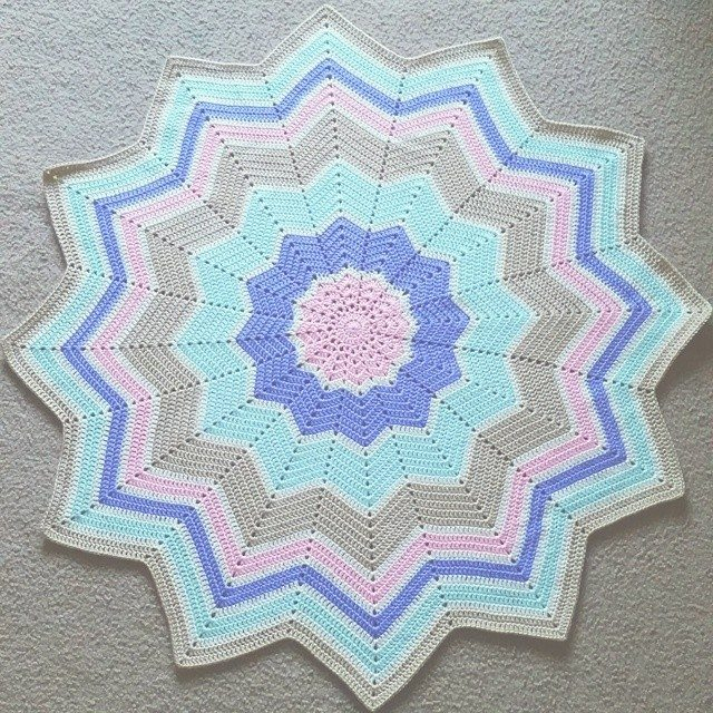 samyaun crochet baby blanket Crochet Instagrammed