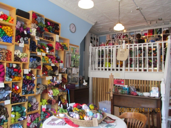 Crocheting Yarn Shop : Life and Yarn or Yarn and Life shared LYS Handknit Yarn Studio in ...