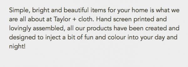 crochet store taylor