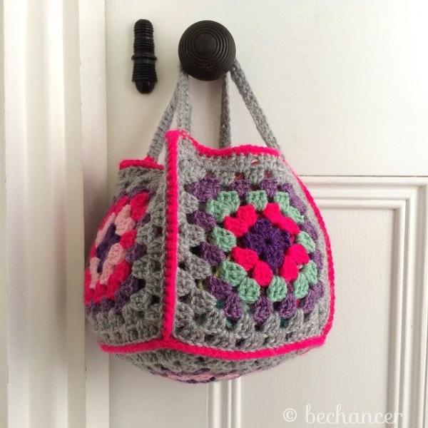 bechancer crochet basket 600x600 100+ Inspiring Crochet Photos This Week on Instagram