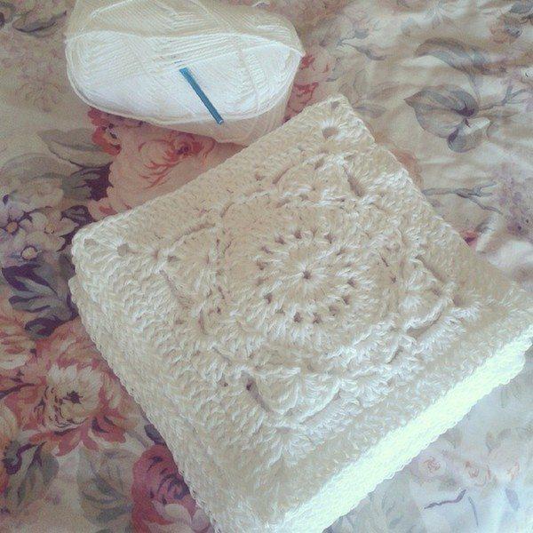 Crochet Quilt Squares : corazonalsol_crochet_blanket_squares