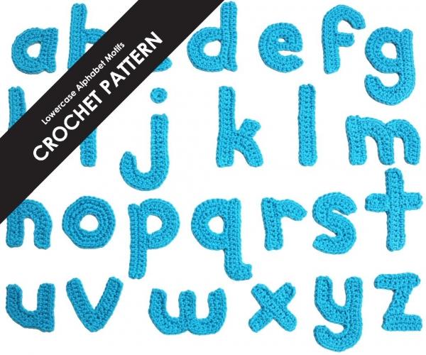 crochet alphabet pattern