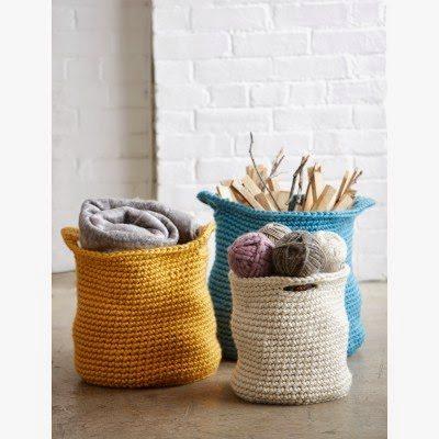 crochet baskets free pattern