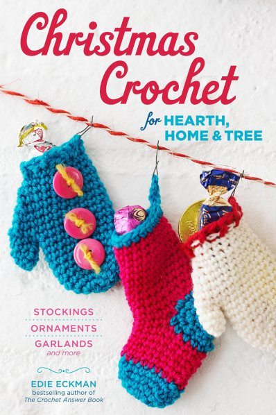crochet christmas book
