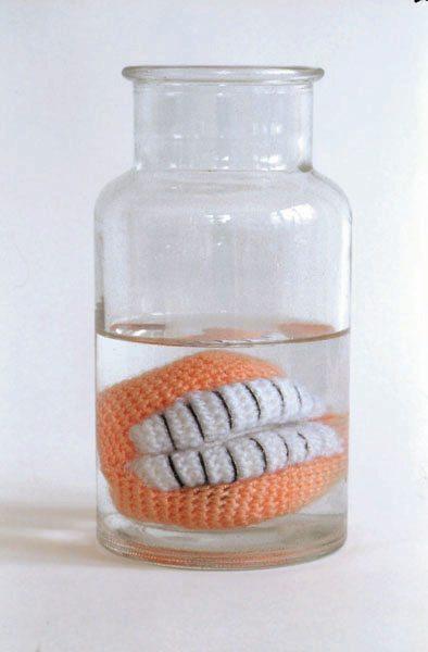 crochet dentures
