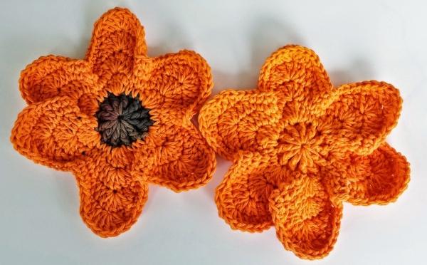 padrão de pano de prato de crochê