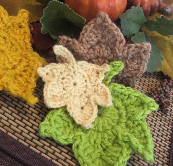 Crocheting Leaves : crochet leaves